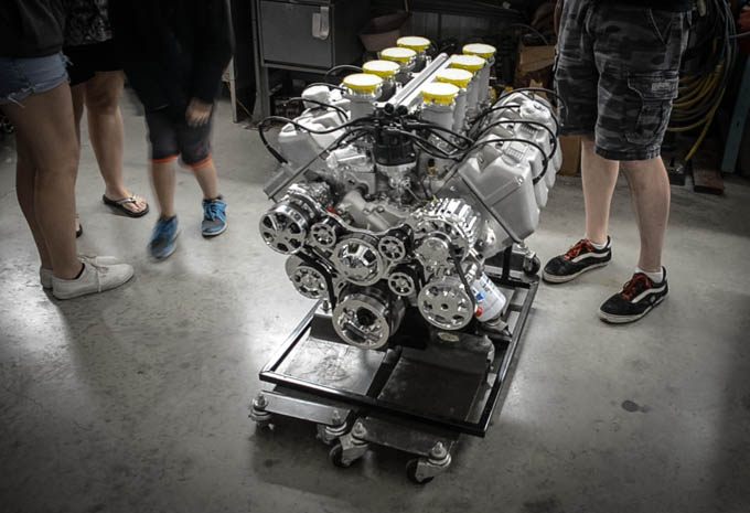 Cimtex builds some beautiful engines for their cars