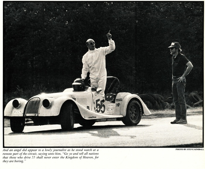 """Toly"" From Road and Track magazine circa 1982"