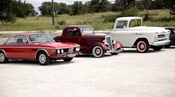 cars in yard