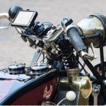 """Attempting the """"Ton"""" on a 1927 Scott Motorcycle"""